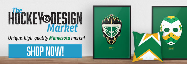 huge selection of f604d 22d68 Worst to First Jerseys: Minnesota Wild | Hockey By Design