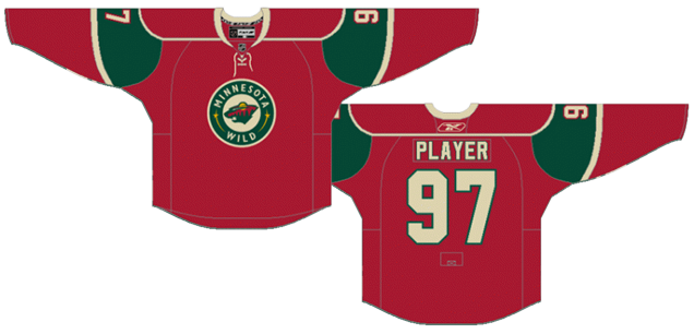 huge selection of 2df5f 6762f Worst to First Jerseys: Minnesota Wild | Hockey By Design
