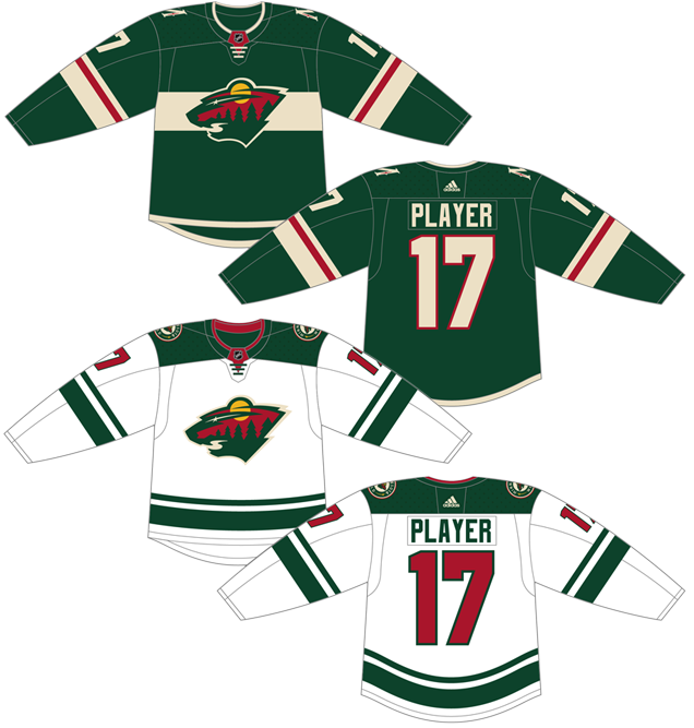 huge selection of 49e00 4e213 Worst to First Jerseys: Minnesota Wild | Hockey By Design