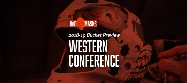 090d35b118a HbD Masks  2018-19 Western Conference Preview