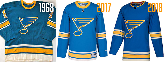 Worst to First Jerseys: St Louis Blues