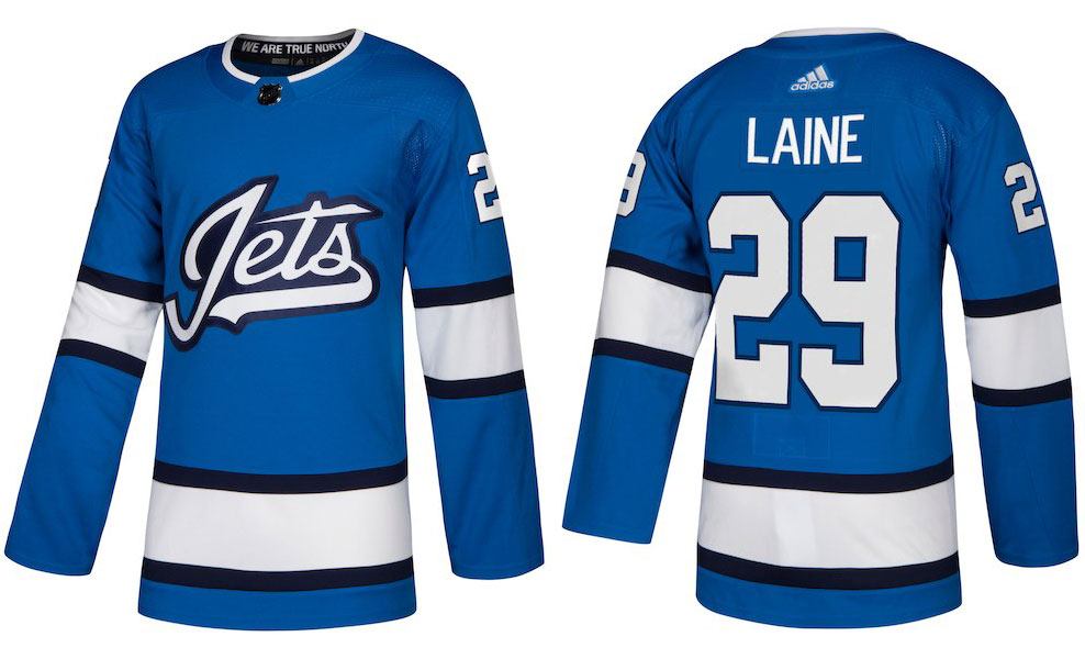 official photos 43b45 b8ab1 HbD Breakdown: Jets and Sharks Third Jerseys | Hockey By Design