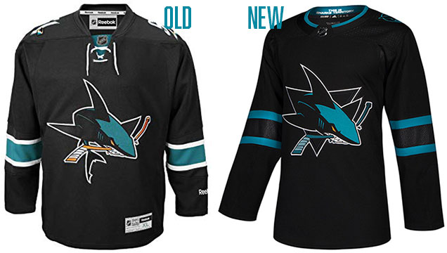 official photos 7b798 14b3a HbD Breakdown: Jets and Sharks Third Jerseys | Hockey By Design