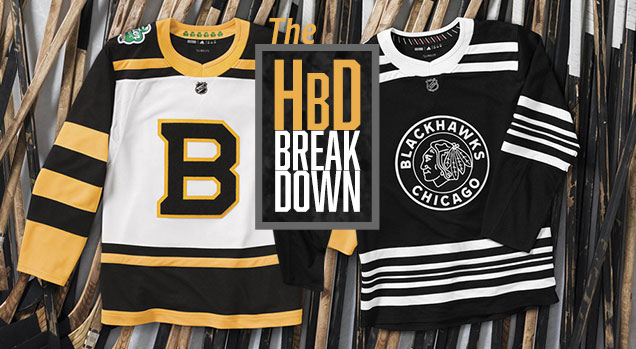 The jerseys for the 2019 edition of the Winter Classic was unveiled  recently. Both the Bruins and the Blackhawks dived deep into their jersey  history to ... 69dc9e3cd93