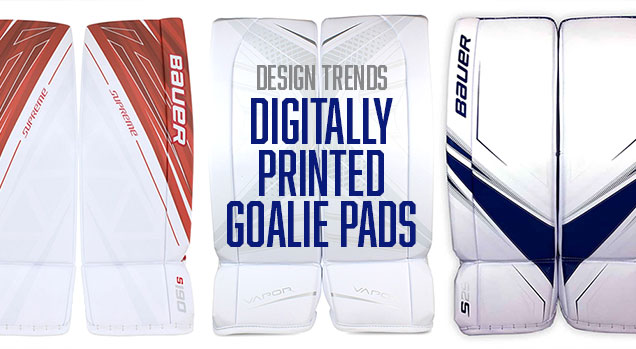 Design Trends: Digitally-Printed Goalie Pads | Hockey By Design
