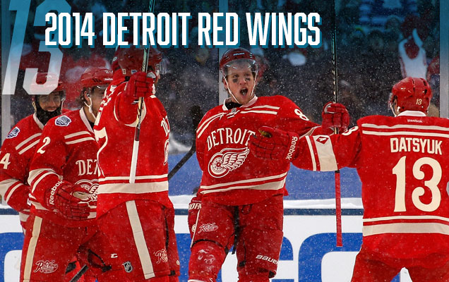 2a953bff6 The Red Wings  second entry into the Winter Classic jersey archive is miles  ahead of their first one