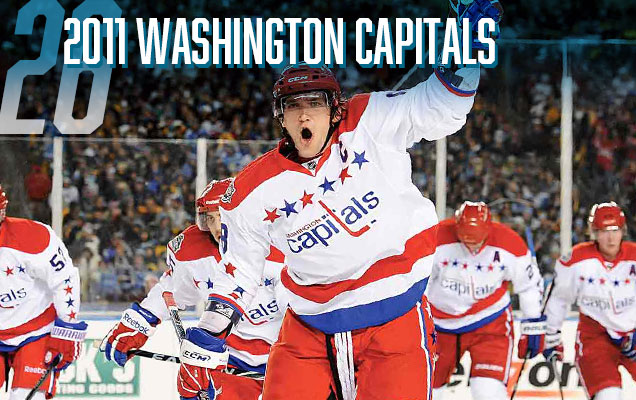 3b0cf2a97 The first of Washington Capitals' Winter Classic jerseys, these just don't  have the retro-chic feel that vintage jerseys usually go for, instead  looking ...