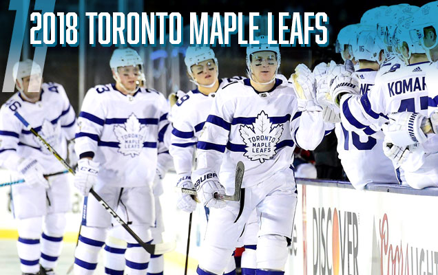 The Leafs join the list with their 2018 inclusion to the Stadium Series  jersey canon. It s dropped a few spots from last year due to the fact that  they ... a8cdfe5b9