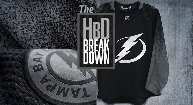 promo code c182f 760e8 HbD Breakdown: Tampa Bay Lightning Third Jerseys | Hockey By ...