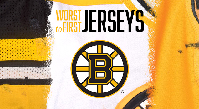a02c5b74fdf This installment of the Worst to First Jerseys features the Boston Bruins.  Worst to First Jerseys is an on-going series, covering all the jerseys worn  by ...