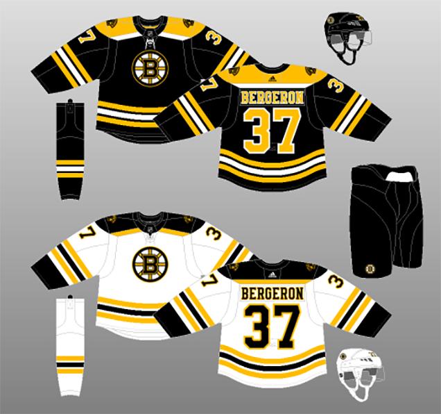 Worst to First Jerseys: Boston Bruins