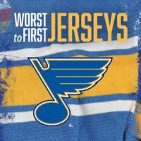 aa48f6eeebe Worst to First Jerseys: St Louis Blues