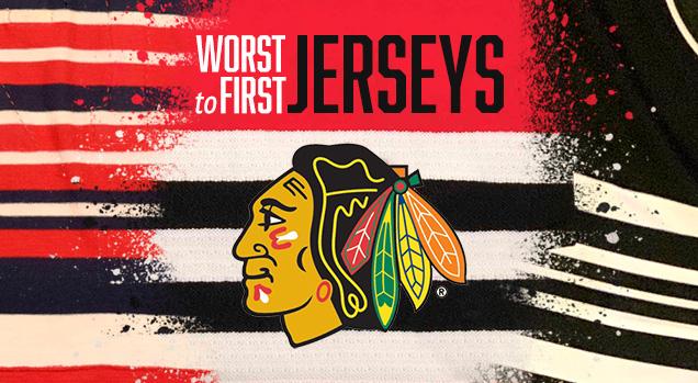 online retailer 4947d 57210 Worst to First Jerseys: Chicago Blackhawks   Hockey By Design