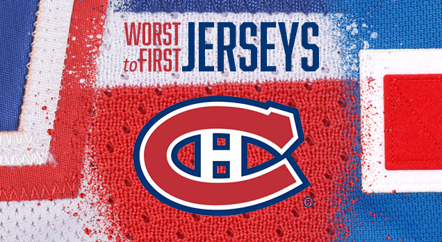 newest a440c ff4cb Worst to First Jerseys: Montreal Canadiens | Hockey By Design