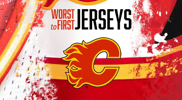 Worst To First Jerseys Calgary Flames Hockey By Design
