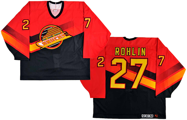 Worst To First Jerseys Vancouver Canucks Hockey By Design